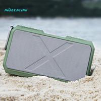 Wholesale Meizu Mini Player - NILLKIN power supply bank speaker wire Bluetooth speaker portable IPX 4 Waterproof music speaker for samsung for xiaomi meizu