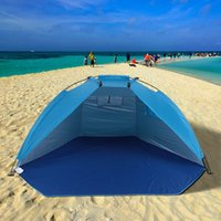 Wholesale D Type Car - TOMSHOO Outdoor Sports Sunshade Tent for Fishing Picnic Beach Park Useful tent for fishing, picnic or having beach fun Y2371GR