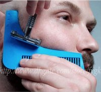 Wholesale Express Shipping Hair - Send DHL FedEX express GROOMARANG Beard Symmetry Styling & Shaping Template Comb Trimming Facial Hair Free Shipping