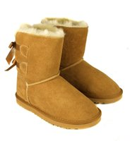 Wholesale Wholesale Fashion Womens Boots - DORP SHIPPING 2018 wholesale! New Fashion Australia classic NEW Womens boots Bailey BOW Boots Snow Boots for Women boot .