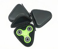 Wholesale Uv Coating Phone Cases - Eva Fidget Spinner Toys Pouch Storage Bags Bluetooth Headset Phone Cable USB Bags Case with Net Housekeeping Organization Good Quality