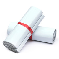 ingrosso plastica della borsa della posta-Di buona qualità 28x42cm Bianco Mailer Bags Self-seal Mailbag Busta di plastica Corriere postale Mailing Bags Autoadesivo Espresso Poly Borsa 50 pz