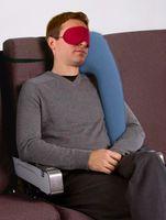 aufblasbarer reisekissenhals großhandel-Aufblasbares Kissen Reisekissen Diverse innovative Kissen für reisende Flugzeugauto-Schlafkissen Nacken-Kinn-Kopfstütze