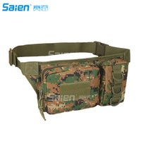 Wholesale Tactical Waist Pack Portable Outdoor Hiking Travel Large Army Waist Pack for Daily Life Cycling Camping Hiking Hunting Fishing Shopping