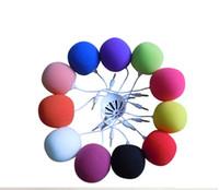 Wholesale Balloon Speakers - Ball music speaker 3.5mm Audio Docking Stereo Music Balloon Ball Mini Speaker for MP3 MP4 Cell Phone ipod nano