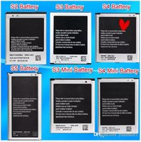 Wholesale Battery For Samsung S2 S3 S3mini S4 S4 mini S5 Battery Note1 Note Note Note Battery Accu