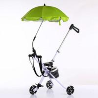 Wholesale Three Wheel Baby Stroller - Wholesale- New Arrival Ultralight Baby Stroller Artifact Portable Folding Three Wheels Baby Stroller