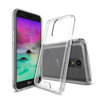 Wholesale Transparent Back Cover For Mobile - For LG LV3 XIAOMI 6 Acrylic Transparent Combo Cover Back TPU Case ECO-friendly Material Anti-finger Print Protect Your Mobile From Damage