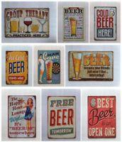 free beer signs Australia - Best Free Beer Vintage home Bar Pub Hotel Restaurant Coffee Shop home Decorative Metal Retro Tin Sign