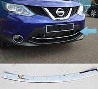 ACCESSORI FIT FOR 2014 2015 2016 NISSAN QASHQAI CROMO PRIMO PIANO MESH GRILL GRILL COVER TRIM GUARD MOLDING