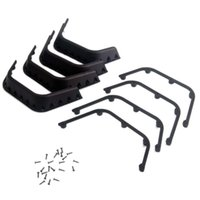 Wholesale Scale Rc Trucks - Fender Flares Trim for 1 10 Scale Truck AXIAL SCX10 D90 RC Car Crawler Black