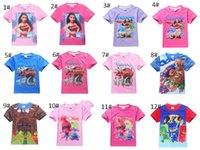 Wholesale Top Brand Boys Clothes Sale - New Kids Boys Girl T-shirt hot sale summer short sleeved T-shirt Cartoon Pattern Tops TeesKids Cotton Clothing