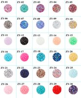 Wholesale Flat Back Resins Wholesale - 12mm Dia Round Faux Druzy Resin Cabochon Drusy Cameo Seals Flat Back Cabochon Supplies for Kenda earrings Kate Jewelry Finding