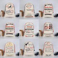 Wholesale Personalized Gifts Children - Newest Halloween Sacks Bag Canvas Personalized Children Candy Gifts Bag Pumpkin Spider treat or trick Drawstring Bags Christmas Gift Bags