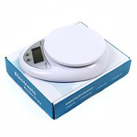 Wholesale Digital Weighing Scales 5kg - Hot Sale Weighing ScalesTools Balance Household Weight 5Kg x 1g Digital Kitchen Scale Diet Food Compact LED Electronic Steelyard