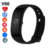 Wholesale V66 smart Bracelet OLED Heart Rate Monitor Bluetooth Waterproof for IOS Android