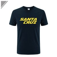 Wholesale Wholesaler Skating Dress - Wholesale- New Summer Dress Skateboard Skate Santa Cruz Printed T Shirt Men Shirts Camiseta Tee Clothing Men's Sportswear Large Size Dress