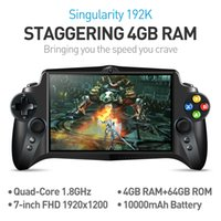 Wholesale Jxd Tv - JXD S192K 7 inch hd intelligent double rocker touch tablet android game PSP HDMI Dual screen display Up to 1080P