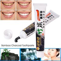 Wholesale Toothpaste Charcoal Toothpaste Bamboo Charcoal Toothpaste Oral Hygiene Product Whitening Black Tooth Paste g per Pieces