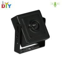Wholesale Tiny Hidden Security Cameras - Micro 3.6mm Lens Mini IP Camera 720P Home Security System CCTV Surveillance Tiny HD Microphone Mini Pinhole Hidden Camera Video P2P