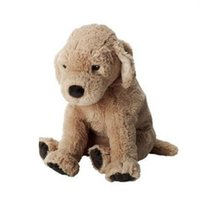 Wholesale pet toys for girls online - The child s pet lovely labrador dog simulation cm plush dog animals stuffed toys brinquedos birthday gift for children girl