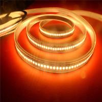 china led strip 12v achat en gros de-Les lumières de bande flexibles de LED 3528SMD 12V 24V 60LED 120LED 240LED RVB blanc 25LM / LED 5M décorent en plein air la décoration imperméable de petit