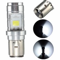 BA20D H4 Led Moto Phare LED DC 12 V 24 V 10 W COB LED Moto Phares 6000 K Moto Cyclomoteur ATV Phare Ampoule
