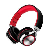 Wholesale New Headphone Cable - YIJIN-2017 new cable high fidelity stereo headphones, built-in microphone headphones, comfortable leather - (black and red)