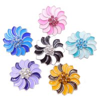 Wholesale Cheap Heart Charms - wholesale 18mm snap jewelry noosa enamel chunks ginger snap buttons jewelry cheap