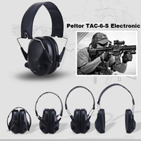 Wholesale Professional Hearing - Emerson TAC-6-S Electronic Headset Hearing Protector Earmuffs Professional IPSC shooting