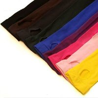 Wholesale Yellow Baby Pantyhose - Wholesale- Girls Velvet Candy Color Pantyhose Cute Stirrup Kids Baby Tights High Quality Underpants Children Ballet Tights 12Colors wdw042