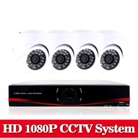 Nini Home HD 1080P HDMI 8CH 1080P Sicurezza AHD DVR CCTV Kit AHD 8 Channel Dome CCTV Kit Sistema di sicurezza no HDD