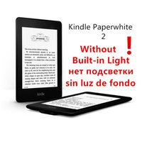 Wholesale Paperwhite Touch Screen - Wholesale- kindle paperwhite 2 without built in light second generation wifi e book reader ebook ink touch e ink book 4GB