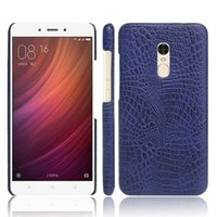 Wholesale Xiaomi V5 - New Arrival Luxury Leather Crocodile Textured PU Plastic Phone Case For Vivo X9 V5 Plus Y53 Xiaomi Note 4 4A 3X