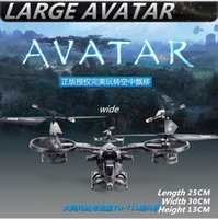 Wholesale Avatar Metal Gyro 4ch - Large Avatar helicopter 30cm YD711 Avatar AT-99 2.4G 4ch RTF rc Helicopter Gyro ready to fly radio control toys 2017 hot sale