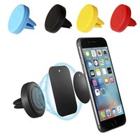Wholesale Galaxy S3 Air Vent Holder - Air Vent Magnetic Car Mount Swivel Head Magnets Bracket Mobile Smartphone Holder For Samsung Galaxy S3 S4 S5 S6 S7 S8 Edge CZ01