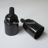 suporte e12 venda por atacado-CE E27 Baquelite Lampara Edison Suporte Da Lâmpada Pingente de luz Soquete Do Vintage Lâmpadas Industriais Pingente
