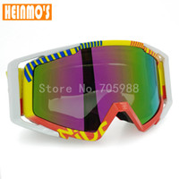 Wholesale Vintage Motorcycle Glasses - Hot sales motorcycle goggle dust glasses 100% UV protection Vintage motorcycle glasses Colorful Lens