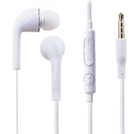 Wholesale Chinese S4 Android - 3.5mm in-Ear Headphones J5 Headset Stereo Earphone With Mic and volume control Headphones For Samsung Galaxy s4 s5 s6 edge For Android phone