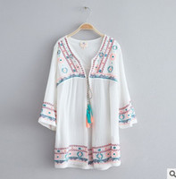 Wholesale White Lace Cardigan Dress - 2017 New Fashion Big Girl cardigan Tassel embroider Children Princess Dress Spring lace-up Europe Style Kids Casual Tops 7749