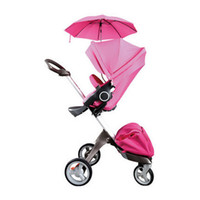 Wholesale Two Way Stroller - Hot selling Four wheel baby stroller MUlti function Baby car suspension folding two-way biest dsland handcars