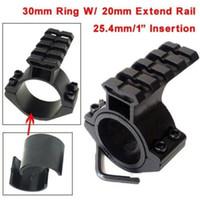 "Wholesale Weaver Base Rings - Scope Barrel Mount 1""  25.4mm 30mm Ring Adapter 20mm Weaver Picatinny Rail Rifle Pistol Airsoft Gun Base Install Scope Pistol"