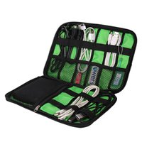 Wholesale Electronics Organizer Bag - Wholesale- Snigir Electronic Accessories Bag For Mobile Hard Drive Organizers For Earphone Cables USB Flash Drives Case Digital Bag