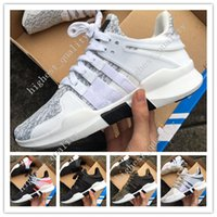 Wholesale Red Plastic Meshes - Cheap New Mens EQT Support 97 ADV Running Shoes Fashion Running Sneakers for Men and Women Turbo Red Black White Red Size 36-45 US 5.5-11