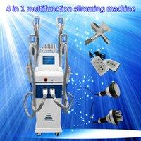Wholesale Cavitation Multipolar - fat freeze slimming machine 4 fat freeze handles lipo laser slimming machine ultrasonic liposuction cavitation multipolar radio frequency