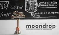 Wholesale Wholesale Skateboard Supplies - 2017 Hot Selling Relieve Stress MOONDROP Fidget Toys Hand Spinner Moondrop Earthdrop Marsdrop Fidget Toy 3 Colors Supply Silver Coppery Blue