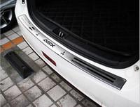 placa mitsubishi venda por atacado-Acessórios FIT PARA 2010 2011 2012 2013 2014 2015 Mitsubishi ASX Pára-choques Traseiro Protetor tampa da tampa do painel íngreme Placa da soleira