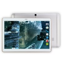 Wholesale Tablette Bluetooth Gps - Wholesale- 4G Lte Tablet Android 6.0 Octa Core 32GB ROM 5MP and Dual SIM OTG WIFI GPS bluetooth phone Tablette PC Computer