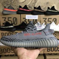 Mesh black bold - Double box Beluga Grey Bold Boost Sply V2 Cream White Zebra Bred Running Shoes Sports Beluga Black Red White Sneakers