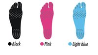 Wholesale 3 Colors Summer Nakefit Soles Invisible Beach Shoes Nakefit Foot Pads Nikefit Prezzo Nakefit Beach Feet Pads CCA4578